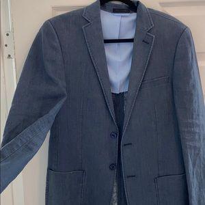 Calvin Klein 100% Linen slim fit blazer